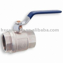 1 pc carbon steel ball valve , 1 pc stainless steel ball valve